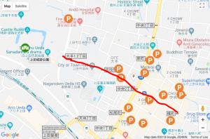 上田真田まつり ディズニー パレード 場所